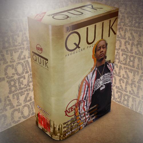 Product picture Dj Quik Producer Pack - Classic West Coast Sounds